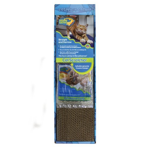 Cosmic Cat Scratcher Single Ourpets Straight And Narrow Single Wide Cat Scratcher