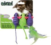 Our Go Cat Go 3 Twined Mice Ourpets Three Twined Mice Cat Toy