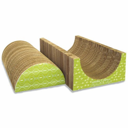 Cosmic Cat Half Circle 2 Piece Cat Scratcher Freestyle
