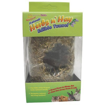 Fmb Herb N Hay Tunnel Lg Falfa Cravin Herb N Hay Tunnel For Small Animal Size 8""
