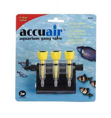 Jw Accuair Gang Valve 3 Way Jw Pet Company Accuair 3 Way Aquarium Gang Valve