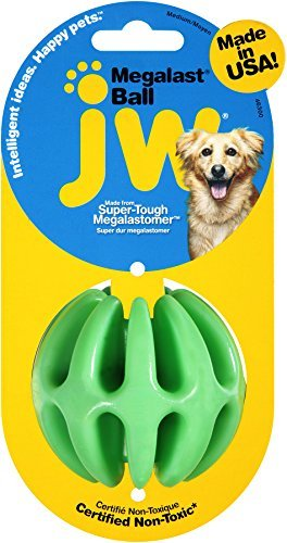 Jw Dog Megalast Ball Jw Pet Company Megalast Ball Dog Toy Medium (colors Vary)