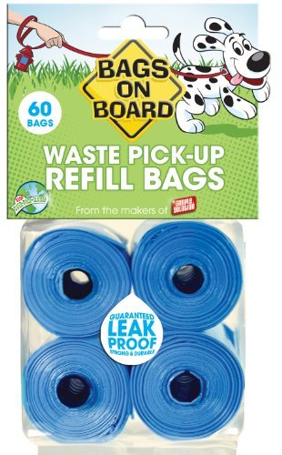 Bags On Board Refill 60ct Bags On Board Regular Bag Refill Pack 60 Bags