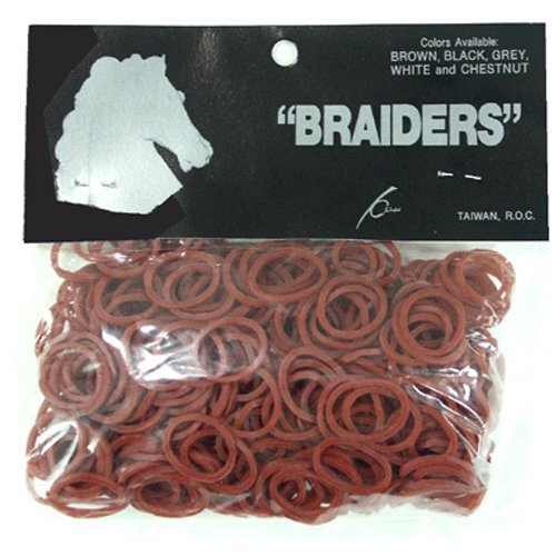 Equ Braid Bands Chestnut Partrade Braid Bands Chestnut 500bg