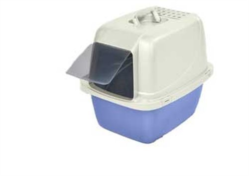 Van Cat Pan Cp6 Lg Enclosed Van Ness Cp6 Enclosed Cat Pan Litter Box Large
