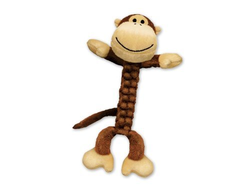 Kong Braidz Monkey Sm Kong Braidz Monkey Dog Toy Small