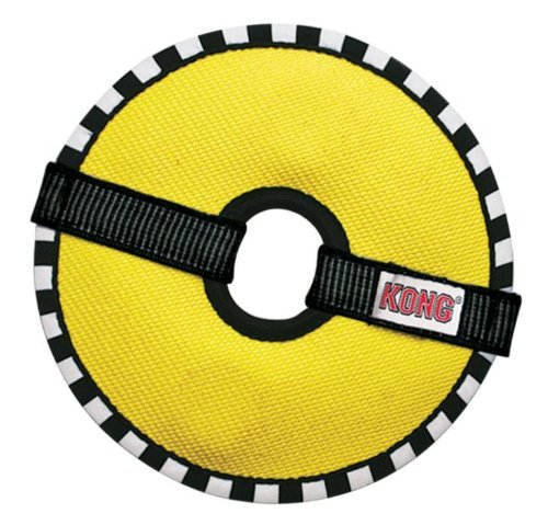 Kong Ballistic Ring Medium Kong Fire Hose Ballistic Ring Toy For Dogs Medium