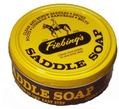 Equ Yellow Saddle Soap 12oz Fiebing Saddle Soap Yellow 12oz