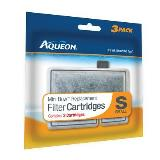 Aqueon Mini Bow Crtg 2.5 5 3pk Aqueon 06076 Filter Cartridge Small 3 Pack