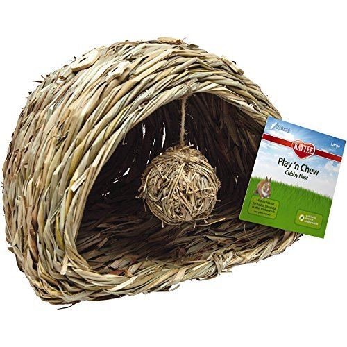 Spet Nat Play N Chew Cubby Lg Kaytee Natural Play N Chew Cubby Nest Large