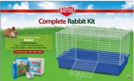 Spet Rabbit Kit Fiesta Complt Kaytee My First Home And Fiesta Complete Starter Kit For Rabbits