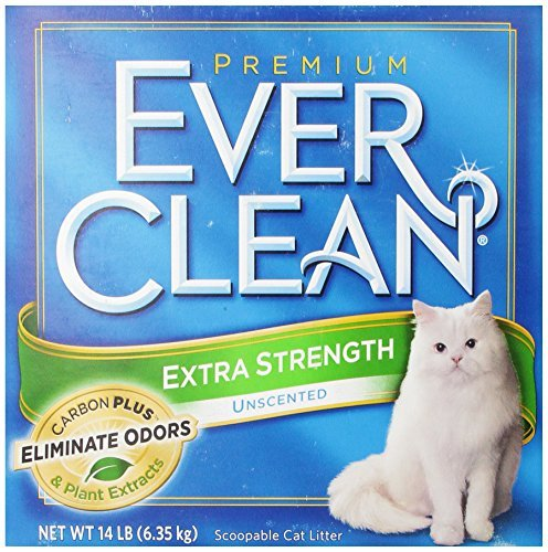 Clo Ever Clean Litter Xs 14lb Ever Clean Extra Strength Cat Litter Unscented 14 Pound Box *clo Ever Clean Litter Xs 14lb