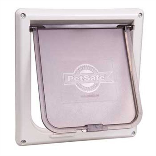 Pet Safe Cat Door White 050 11 Petsafe Small 2 Way Locking Cat Door