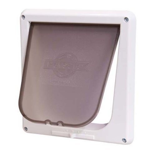 Petsafe Door Locking Cat 4way Petsafe Four Way Cat Flap White P1 4w 11