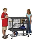 Mid Critter Nation Single Midwest Critter Nation Animal Habitat With Stand Single Unit 36 Inches By 24 Inches By 39 Inches