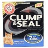 A&h Clump & Seal Litter 28lb Arm & Hammer Clumping Litter 28 Pound Fresh Home
