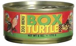 Sspo Zoo Box Turtle Food 6oz Zoo Med Box Turtle Wet Food 6 Ounce