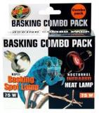 Zoo Day And Night Combo 75 W Zoo Med Basking Bulb Combo Pack Day And Night 75 Watts