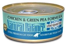 Natural Balance Lid Chicken & Green Pea 6oz