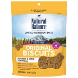 Natural Balance Potato And Duck Formula Dog Treats 8 Ounce Bag