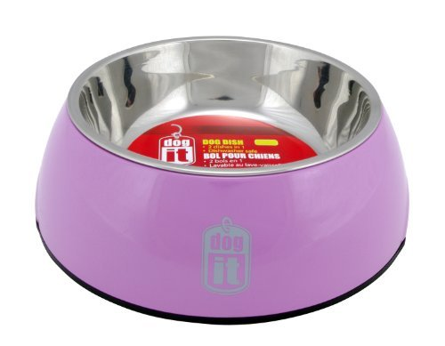 Hag Dogit Bowl 2in1 Xs Pink Dogit 2 In 1 Durable Bowl Pink X Small