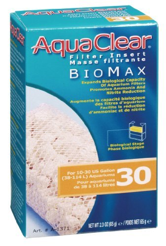 Aqua Clear 30 Biomax Aquaclear 30 Gallon Biomax