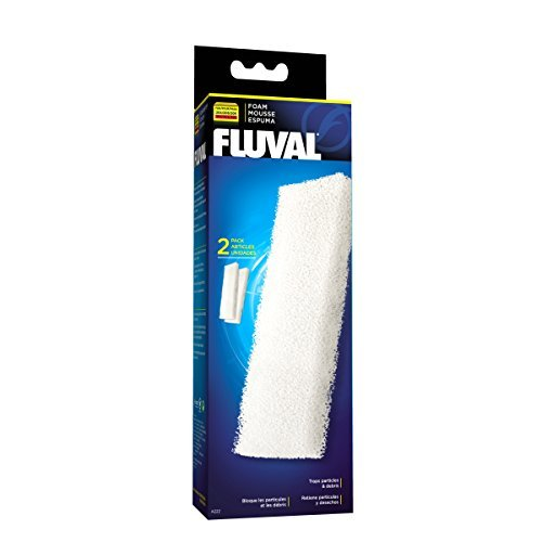 Fluval Filter Foam Block 204 2 Fluval Foam Filter Block (204 205 306 & 304 305 306) 2 Pack
