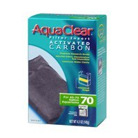 Aqua Clear 70 Actvtd Carbon Aquaclear Activated Filter Carbon Size 70 Gallon 4.2 Oz.