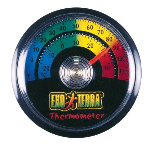 Hag Exo Terra Thermometer C&f Exo Terra Thermometer Celsius And Fahrenheit