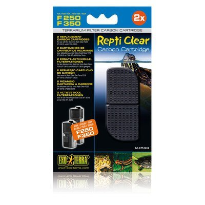 Hag Repti Clear Carbon F250 Exo Terra Repti Clear 250 Carbon Cartridge
