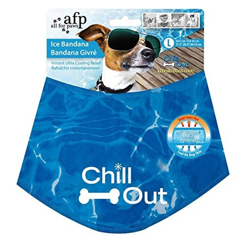 Afp Chill Out Ice Bandana Lg All For Paws Chill Out Ice Bandana Khlendes Scarf For Dogs L
