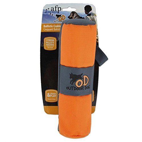 Afp Outdoor Ballistic Crakler All For Paws Outdoor Dog Toy With Pet Bottle