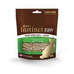 Nav Cat Instinct Fzd Lamb 3oz Nature's Variety Instinct Freeze Dried Raw Lamb 3 Oz