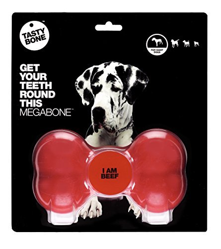 Hag Tasty Bone Mega Beef Tasty Bone Pet Treat Bone Mega Beef