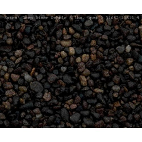Estes Gravel Pebble Dp Rvr 5lb Deep River Pebble 5 Lb