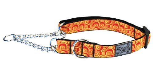 Rc Pet Trn Clr L Marigold Rc Pet Products 1 Inch Training Martingale Collar Large 14 To 20 Inch Marigold