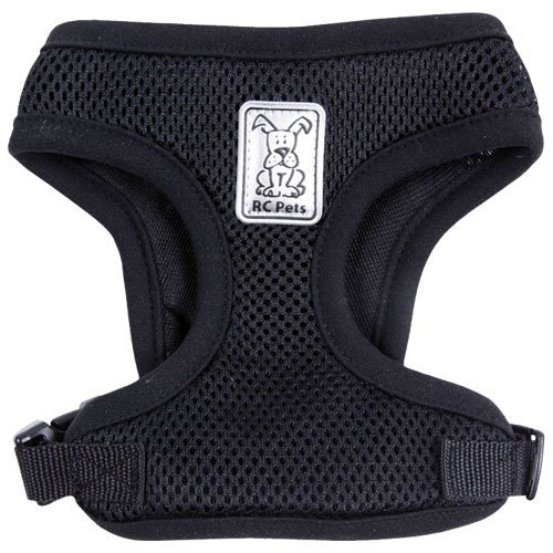 Rc Pet Products Cirque Soft Walking 10 To 20 Pound Dog Harness Black Cirque Harness S Black