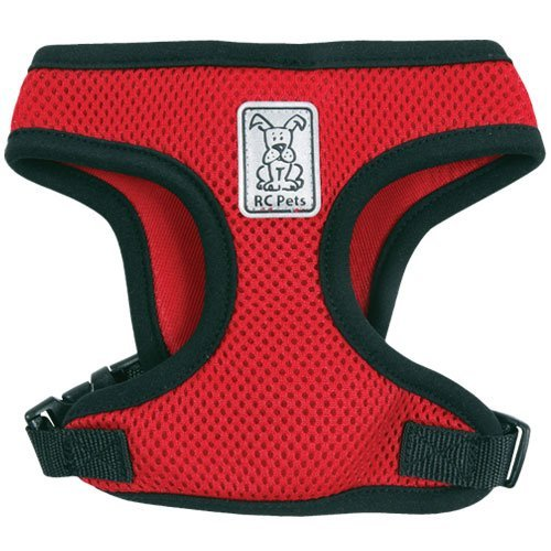 Rc Pet Products Cirque Soft Walking Dog Harness Medium Red Cirque Harness M Red *rc Pet Cirque Harness M Red