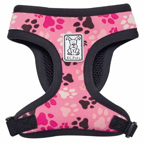 Rc Pet Products Cirque Soft Walking Dog Harness Medium Pitter Patter Pink Cirque Harness M Pitter Patter Pink