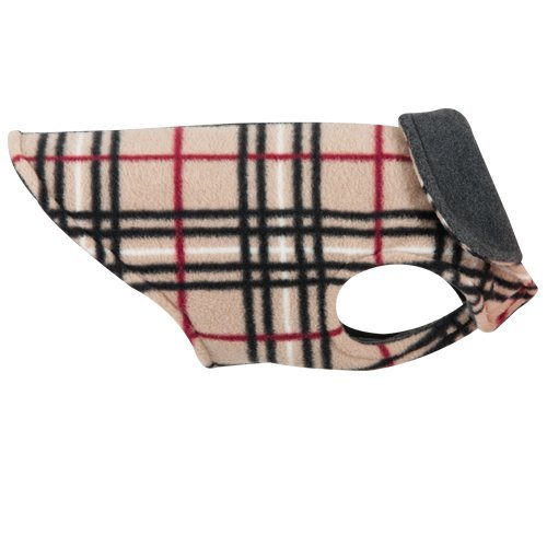 Rc Pet Products Whistler Winter Wear Dog Coat Size 16 Tan Tartan Whistler Winter Wear 16 Tan Tartan
