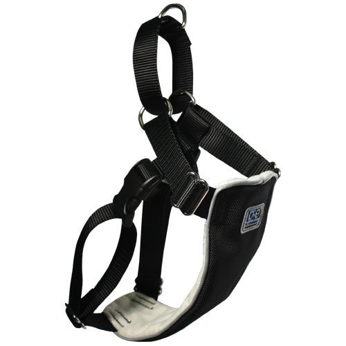 "Canine Equipment 1"" No Pull Harness Xlarge Black No Pull Harness Xl Black"