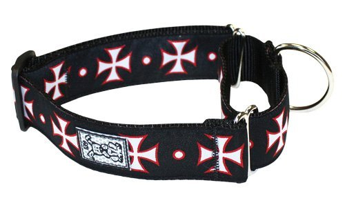 Rc Pet Products 1 1 2 Inch All Webbing Martingale Dog Collar Small Maltese Cross All Webbing Training Collar S Maltese Cross