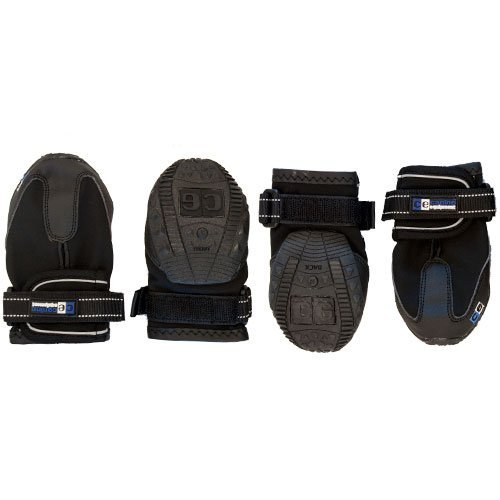 Canine Equipment Ultimate Trail Dog Boots Large Black