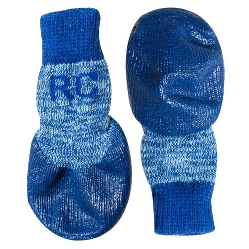 Rc Pet Products Sport Pawks Dog Socks Large Blue Heather
