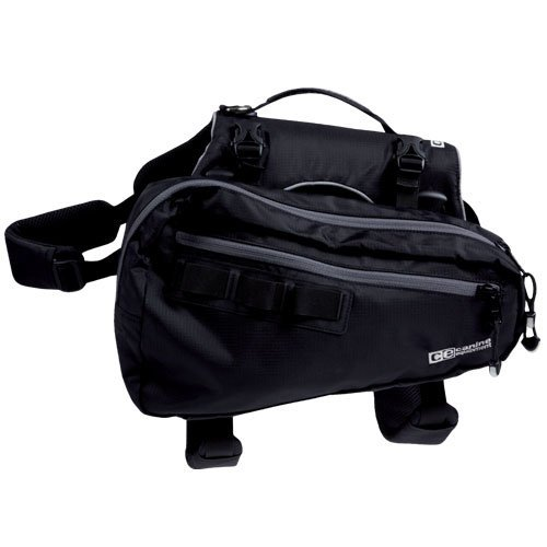 Canine Equipment Ultimate Trail Dog Pack Medium Black Trail Pack Ult M Black