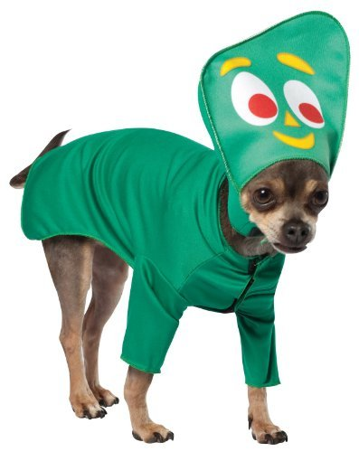 Rasta Imposta Gumby Medium Rasta Imposta Gumby Dog Costume Medium