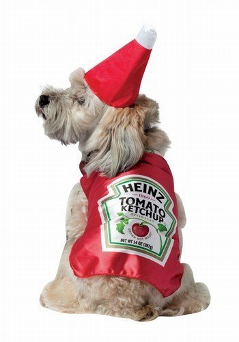 Rasta Imposta Heinz Ketchup Xs Heinz Ketchup Bottle Pet Dog Costume Select Size X Small