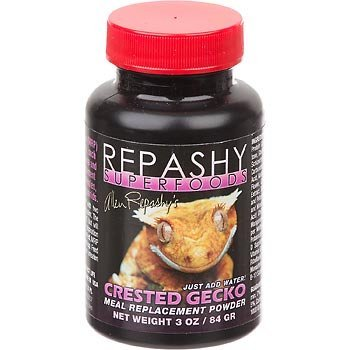 Repashy Crested Gecko 3oz Repashy Crested Gecko Mrp Diet Food 3 Oz Jar