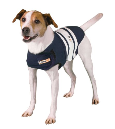 Thundershirt Grey Md 20 50lb Thundershirt Dog Anxiety Treatment Gray (medium)