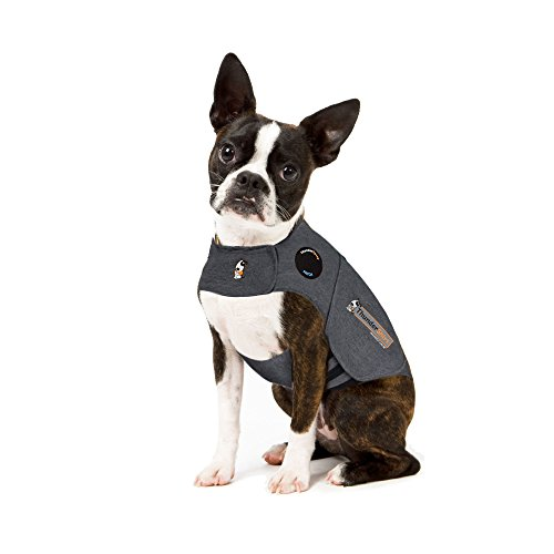 Thundershirt Grey Xs 10 18lb Thundershirt Dog Anxiety Treatment Gray (extra Small)